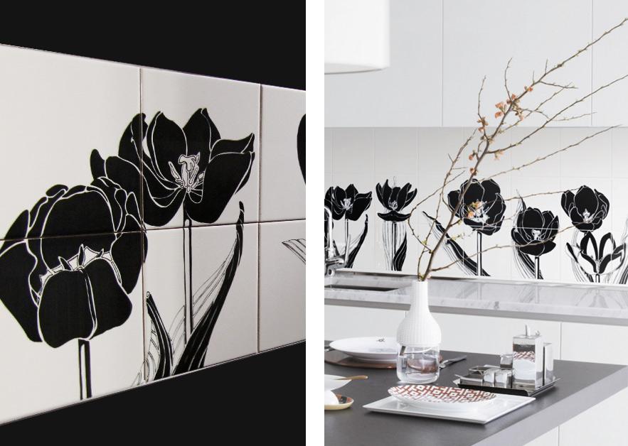 Tuli Tuli 2 · Hand-Painted Tiles for Ceramica Bardelli · Milan 2009
