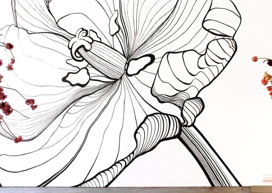 Mural Solitaire Tulip