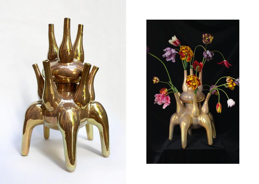 Vase Ganesh · for Mobach Ceramics Utrecht 2011
