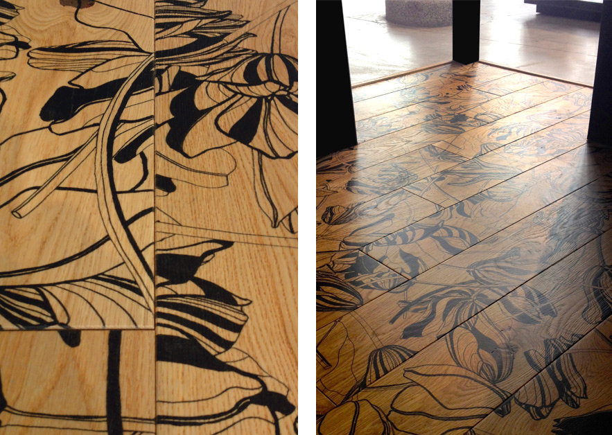 Tulip Floors for Xilo1934 · Milano 2014