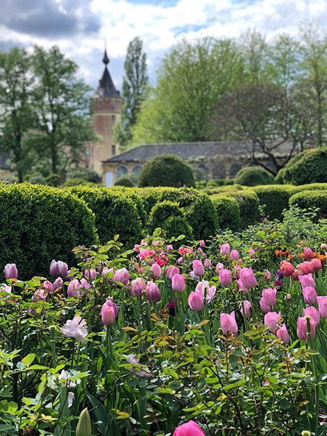 Castle 's-Gravenwezel - Axel and May Vervoordt